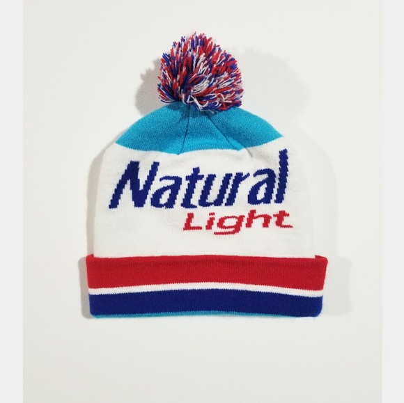 a0b7622ba30 Natty Natural Light Beer 90s Colorblock Beanie Hat.  M 5b519de87386bc53fe38cc80